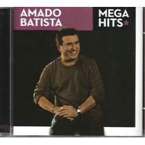 Cd - Amado Batista - Mega Hits - Lacrado