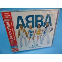 Abba - 40 / 40 The Best Selection - Cd Duplo Shm Cd - Japan