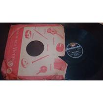Disco 78 Rpm Os Cariocas - Adeus América E Nova Ilusão