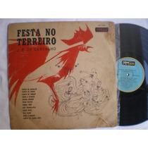 Lp - J. B. De Carvalho / Festa No Terreiro / Musicolor