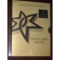 Box Roupa Nova 5 Dvds + Cd + Livreto Ediçao De Luxo Lacrado