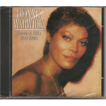 Dionne Warwick - Greatest Hits 1979-1990 - Lacrado Cd Novo
