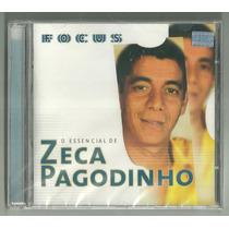 Cd Zeca Pagodinho Focus Essencial 20 Sucessos 1999 Lacrado