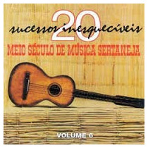 Cd Meio Seculo De Musica Sertaneja Vol. 6