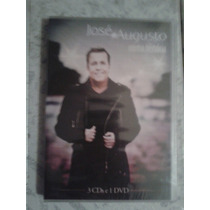 José Augusto Box Minha História 3 Cds E 1 Dvd