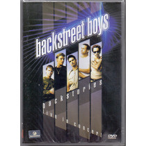 Dvd Backstreet Boys - Backstories Live In Concert - Novo***