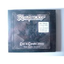 Rhapsody Live In Canada 2005 The Dark Secret Digipack