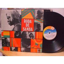 Roda De Samba Vários Romildo Portela Candeia Aparecida - Lp