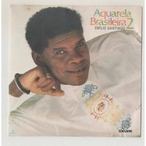 Cd Aquarela Brasileira 2 - Emílio Santiago - 1992