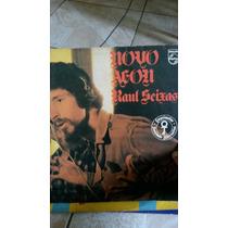 Disco De Vinil Lp Raul Seixas Novo Aeon