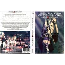 Cd E Dvd Alejandro Sanz La Musica No Se Toca En Vivo Lacrado