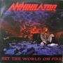 Annihilator - Lp Set The World On Fire - Roadrunner 1993