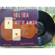Aracy De Almeida Canções Sambas Noel Rosa Lp Continental 10p