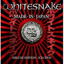 Whitesnake - Made In Japan Deluxe Ed [2cd+dvd] Frete Gratis
