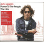 John Lennon - Cd + Dvd - Power To The People - The Hits