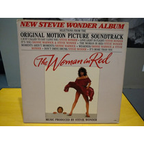 The Woman In Red Lp Original Soundtrack Stevie Wonder Vinil