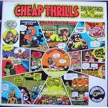 Cd - Janis Joplin & Big Brother - Cheap Thrills - 1ª Edição