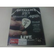 The Big 4 - Live [2dvd] Metallica/megadeth/slayer/anthrax