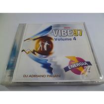 Cd Musicas Eletrônicas Vibe 97 Vol. 4 Anos 90 Flash House