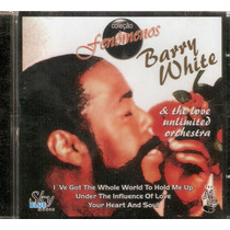 Cd Barry White & The Love Unlimited Orchestra - Novo***