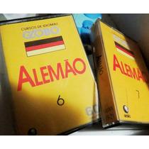Fita K7 Cassete Lote 2 Alemao Curso Globo