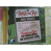 Os Paralamas Do Sucesso Ao Vivo Rock In Rio R$ 24,90 + Frete