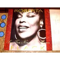Lp Roberta Flack - Set The Night To Music (1991) C/ Encarte