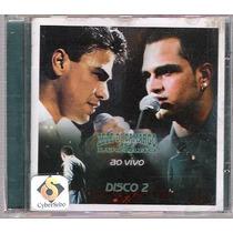Cd Zeze De Camargo & Luciano Ao Vivo Disco 2