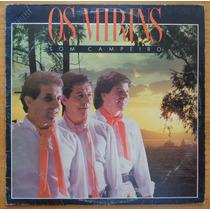Os Mirins Lp Nacional Usado Som Campeiro 1987 Encarte