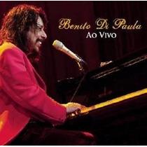 Benito Di Paula Ao Vivo * Cd Original * Frete Grátis Brasil
