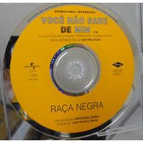 Cd Single Raça Negra / Voce Nao Sabe De Mim Frete Gratis