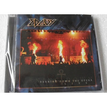 Cd Edguy - Burning Down The Opera Live Duplo Novo E Lacrado