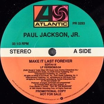 Paul Jackson Jr Make It Last Forever 12 Jorge Ben Tim Maia