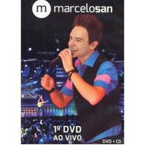 Marcelo San - 1º Dvd - Ao Vivo - Cd+dvd - Frete Grátis