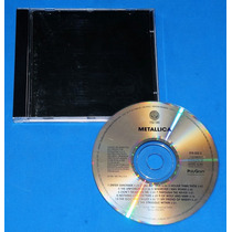 Metallica - Black Album - Cd - Brasil - 1991