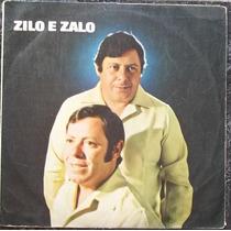 Lp Zilo E Zalo (grão De Areia) 1972 Continental