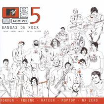 Mtv Ao Vivo 5 Bandas De Rock - Forfun Fresno Nx Cd Acrílico