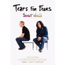 Digipack - Tears For Fears - Secret World - Dvd + Cd