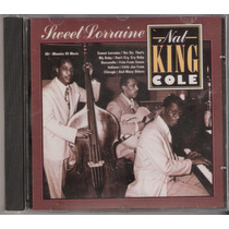 Cd Nat King Cole - Sweet Lorraine ( Movie Play 1991 )