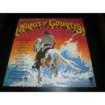 Lp Kings Of Country, Vários Artistas, Disco Vinil, Ano 1981