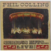 Lp Phill Collins - Serious Hits - Live! (2lps) - 1990 - Wea