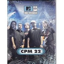 Dvd Cpm 22 Ao Vivo Mtv Novo Lacrado Original