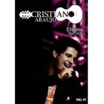 Box Dvd + Cd Cristiano Araújo - Efeitos - Primeiro Original