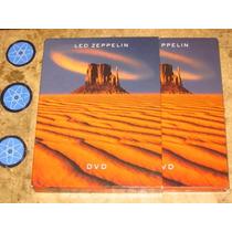 Box 2 Dvd Led Zeppelin - Idem (2003) Digipack C/ Slipcase
