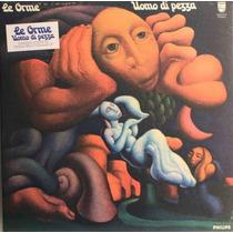 Lp Le Orme Uomo Di Pezza Relançamento Blue Vinyl