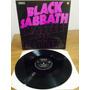 Lp Black Sabbath - Master Of Reality Import Uk Nems Excel