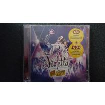 Dvd + Cd Violetta - Ao Vivo (lacrado)