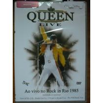 Dvd Queen Live Ao Vivo No Rock In Rio 1985