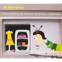 Cd A Zeropeia - Historia Hebert De Souza O Betinho
