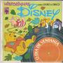 Historinhas Disney - O Dia De Ventania - 1978 Livro Disco